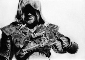 Assassin's Creed IV - Edward Kenway by Tiny-Raven