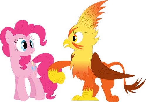 You're a real pal, Pinkie Pie by Porygon2z