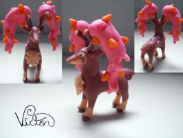 586 Sawsbuck Autumn by VictorCustomizer