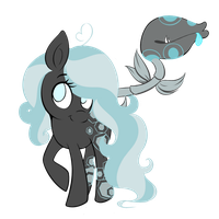Obsidian and Pitchstone by SoftieLocks