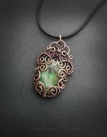 pendant with fuchsite by nastya-iv83