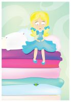 The Princess and the Pea by ysellyra