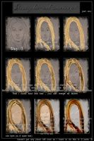 how to paint hair psp9 part I by azurylipfe