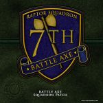BSG Battle Axe Squadron Patch by vectorgeek