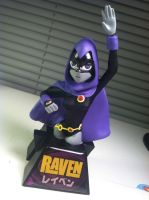Raven Bust with My Tiny Touch! by MattColvin