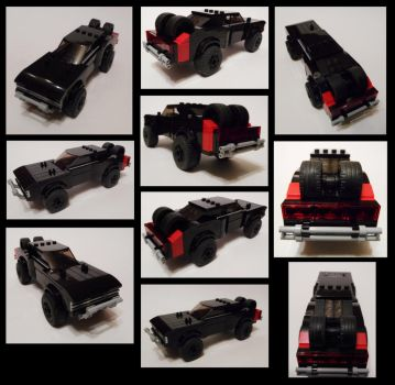 FF7 Dom's Off-road Charger Collage by Spooky42