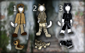 Adoptables Round 10 [CLOSED] by FaithLeafCat