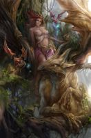 Forest Elf by derrickSong