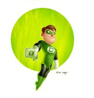 Green-lantern-redone by mikeorion22