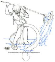 Fish Spearing by Horus-Goddess