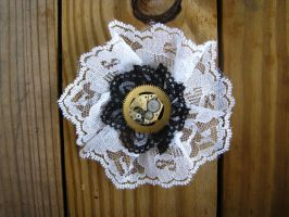 Steampunk Barrette 3 by bcainspirations