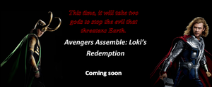 Avengers Assemble Loki's Redemption poster 3 by Purewhitedevil