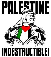 Palestine Indestructible by Latuff2