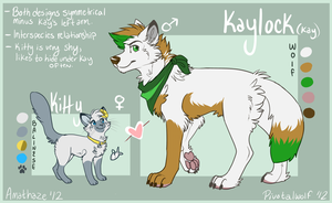 Kitty and Kay refs by Amathaze