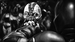 Bane vs Batman II (TDKR) by Giova94