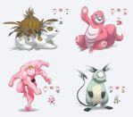 Fusion pokemon by TheScatterbrain