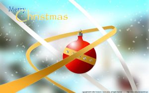 Christmas Wallpaper 2 +ver.09+ by moon-selena