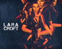 The many faces of Lara Croft by lovechin88