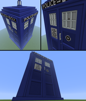 TARDIS in Minecraft by Ictoan12