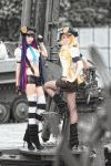 Panty and Stocking - POLICE by kirawinter