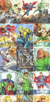 ALL DC 52 Sketch Cards by SaviorsSon