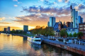 Golden Frankfurt by Riot23