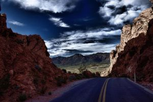 Road to Heaven HDR by JandJPhotography