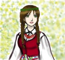 Traditional dressed Fem!Lithuania by EPH-SAN1634
