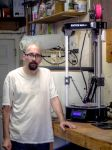 Me and my 3d printer by Mackingster