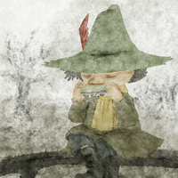 Snufkin from Moomin by AriesFX