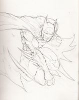 batman sketch by jjakec