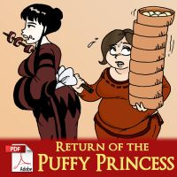 Return of the Puffy Princess by x-22