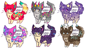cat adopts set price OPEN by wolfelectra