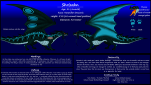 Shrizahn - Reference Sheet by SilverShadowStalker