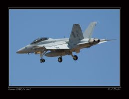 Turning Final, F 18F by jdmimages