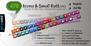 476 Dainty Icons and Small But by kh2838