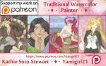 Patreon Banner! Please visit my site! :) by Yamigirl21