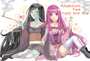2012 happy new year by DevilPink