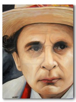 Sylvester McCoy DrWho Portrait by RavenMedia