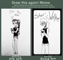 Draw This Again Meme: Star Walker by TrainerHarmony