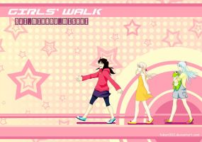 Girls' Walk by sehika
