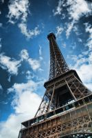 The Eiffel Tower by MisSxSpooKy