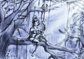 The Forest Guardian by TwickyGirl