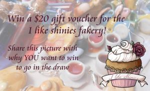 I like shinies facebook giveaway by ilikeshiniesfakery