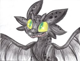 It's Toothless by PlagueDogs123