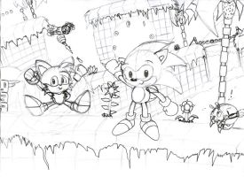 .:sketch:. Gens Green Hill by GamistTH