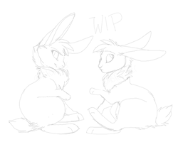 Bunsies WIP by MBPanther