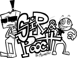 SiR and Pooch Logo Concept by MichaelFay