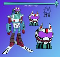 Transformers Animated Snowcat by Destron23