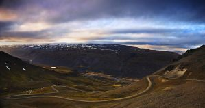 Icelandic roads 4 by Yazhubal